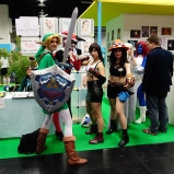 Gamescom 2014 cosplay: Link, Harley Quinn, Tifa and Ace