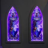 Gamescom 2014 Stained Glass Window Decoration