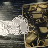 Gamescom 2014 Dog Tags
