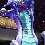 Gamescom 2014 League of Legends Baron Statue